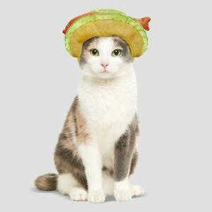 Hyde & EEK! Boutique Fish Taco Headpiece Cat Small Dog Pet Costume