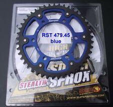 Supersprox Corona Yamaha FZ-1 Fazer, RN16, 45 Denti, RST479-45, stealth, blu