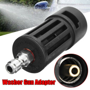 Adapter for Karcher K to 1/4'' inch Quick Release Pressure Washer Gun Lance