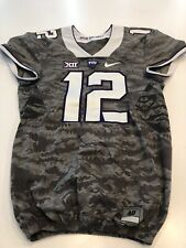 Game Worn Used Nike TCU Horned Frogs Football Jersey Size 40 #12