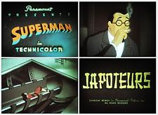 "16mm Sound Film: SUPERMAN CARTOON ""Japoteurs"" (1942) LOW FADE COLOR"
