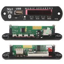 Wireless Bluetooth Remote 12V MP3 WMA Decoder Board Audio Module USB TF Radio