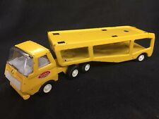 Mini Vintage Tonka Carrier 55230 Yellow Truck & Trailer