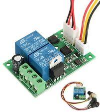 Motor Speed Controller DC 6/9/12/24V 3A PWM Forward Backward Reversible Switch