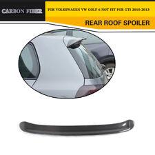 Carbon Fiber Rear Trunk Spoiler Wing For Volkswagen VW Golf 6 Golf VI MK6 10-13