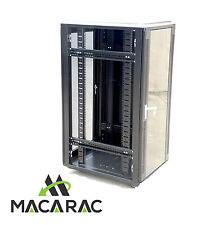"27U 800mm DEEP SERVER / DATA CABINET (19"" Rack / Incl. 4 x 240Vac Fan Unit)"