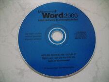 PC CD-ROM, Microsoft Word 2000 Interaktives Trainingscenter