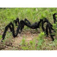 Decoración de araña de Halloween Haunted House interior al aire libre negro SG