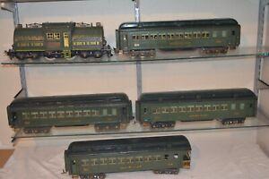 Lionel Standard Gauge State Set 381 412 213 414 Illinois 416 New York Colorado