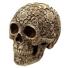 Human Skull Head Cluster Flower Skeleton Horror Halloween Table Decoration