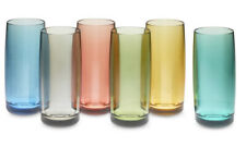 DuraClear Glasses, Set of 6, Multicolored