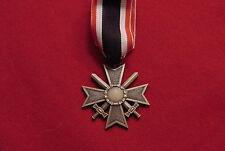 GERMAN WWII MEDAL WAR MERIT CROSS II W/ SWORDS 1957  - DEUTSCHE BUNDESWEHR - BRD