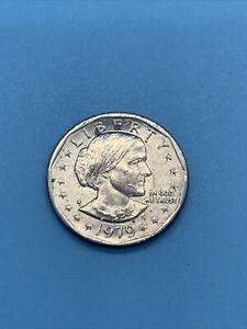 🔥🔥🔥1979 Susan B. Anthony Dollar D🤩💎🇺🇸Super Rare Silver Dollar!!