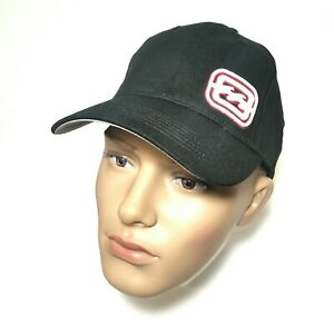 BillaBong White/Red Embroidered Logo Black Elastic Adjustable Baseball Cap NEW