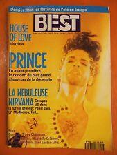 Best 288 du 07/1992- Dossier Tous les festivals en Europe-Prince-Nirvana-Chapman