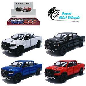 "Kinsmart 1:46 - 2019 Dodge RAM 1500 - 5"" Diecast Toy Car - 4 Colors"