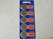 5 Sony CR2032 Batterys Replaces Bose Wave & Other Small Remote Controls EXP.2026
