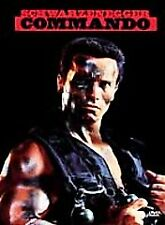 Commando DVD, Schwarzenegger, 1985 (Brand New)