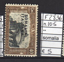 FRANCOBOLLI ITALIA COLONIE SOMALIA NUOVI** N°105(F2836)