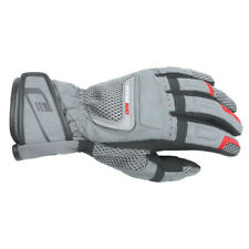 4XL Mens DriRider Vortex Adventure Motorbike Gloves Dual Sports Grey