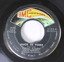 Latin 45 Lucho Bowen avec El Mariachi Charros de Mexico - Amor Pobre / Cont