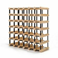 Home Ready FT-WWR06-42 42 Bottle Timber Wine Rack