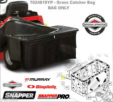Snapper Rear Engine Rider Grass Catcher Bag Single Bag Grass Collection System