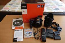 Sony Alpha SLT-A77VQ 24.3MP Digital SLR Camera with DT-16-50 F2.8SSM Lens Kit