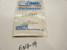 NEW ZAMA GASKET AND DIAPHRAGM KIT    PART NUMBER GND-19