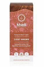 Khadi Naturel Cheveux Couleur - Marron Clair - 100g - Herbes Cheveux Coloration