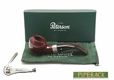 Peterson Harp Sterling Silver Mounted 999 Bent Pipe with Free Pipe Tool