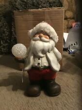 Christmas led snowball Santa decoration