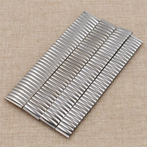 Wristwatch Band Strap Lot Stretch Bracelet Stainless Steel Chic Parts Hot Sale