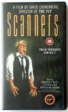 Deleted Title Horror Sci-Fi VHS Films 18 Certificate