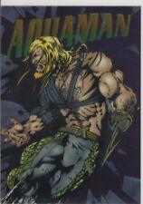 1995 SkyBox Dc Legends Power Chrome Hard Hitters Aquaman #H-16