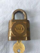 Vintage Yale Lock Padlock