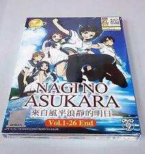 NAGI-ASU: A LULL IN THE SEA Complete Anime TV Series Ep.1 - 26 End DVD Box Set