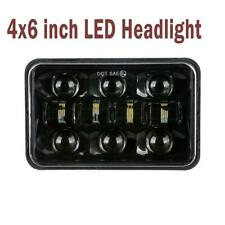 1pc 4x6inch 60W LED Headlight H4 Square Sealed Beam Projector Driving Lamp