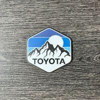 Toyota Blue Mtn Stripes Sticker Decal Tundra Tacoma 4X4 4Runner Fj Cruiser TRD