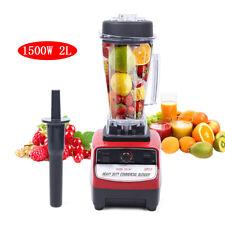 1500w 2l Commercial Blender Mixer Ice Food Blender Juicer High Power 110v Tm 767