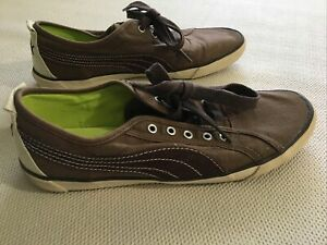 puma sport lifestyle brown men 8, women 9 1/2 sneaker