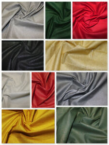 Christmas Shining Sparkle Metallic Glitter Fabric Festive Sewing Craft Material