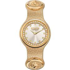 Versus by Versace Women's SCG170016 CARNABY STREET CRYSTAL Quartz Leather Watch