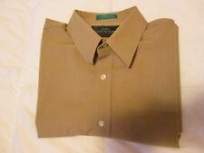 Men's ENRO SHIRTMAKERS DILLARD'S Button Front SHIRT--Size 17-33--Preowned