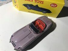 """RARAS, DY007 Jaguar """"Trillium Jaguar Club ' – púrpura, dinky, código 2, w.Box"""