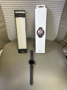 NEW Samsung Galaxy Watch 3 SM-R845U 41mm Silver LTE Bluetooth WiFi GPS Black Wow