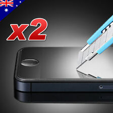 2x Scratch Resist Tempered Glass Screen Protector for Apple iPhone 5/ 5S/ 5C/ SE