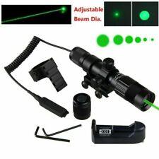 Tactical Green Laser Sight Adjustable Designator Hunting Fit Picatinny 20mm Rail