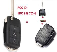Clé générique ID48 Vw Golf V Touran Tiguan Seat Skoda 1K0959753G 1K0 959 753G