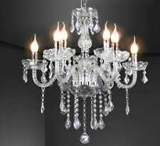 XL Kristall Glas Kronleuchter Decken Leuchte Lampe Licht Lüster klassisch 9-Arm